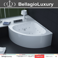 Stainless Steel frame indoor bathtub, heart shaped bathtub