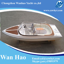 Favorites Compare High quality blue and white new beautiful electric yacht WH-600 for sale