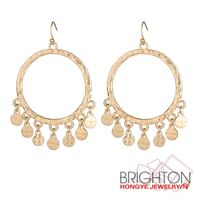 Fashion Lead Free Alloy Hoop Earrings E3-10922-1920