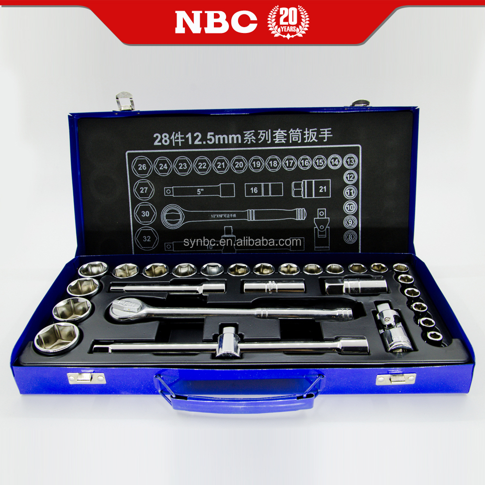 Wholesale Hand Tool 28Pcs Multi-Functional Professional Impact Hand Tool Kit