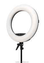 "5500K Dimmable Fluorescent led ring light kit Photo/Video 18"" AC Powered light"