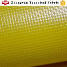 Two side PVC lamination 500D polyester mesh fabric