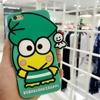 Lovely Cartoon 3D Frog back cover cases for iphone 5s 7 7plus 6 6S plus soft Silicone phone case For iphone7 Ring pendant