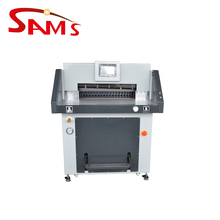 Practical office series program control automatic paper cutting machine 528HP price
