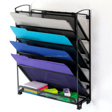 Houseware 6 Tier Metal File Document Letter Tray Organizer