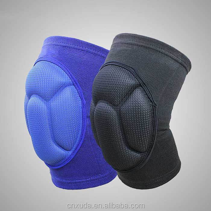 <strong>Protective</strong> Volleyball Knee Pads Thick Sponge Anti-Collision Kneepads Protector Non-slip Wrestling Dance Knee Pads