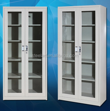 2016 different style high quality glass door key cabinet designs