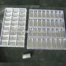 PVC electronic blister packing trays
