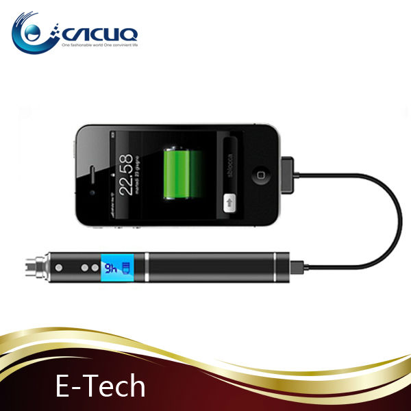 2013 e-tech variable voltage ecig electric sigarette