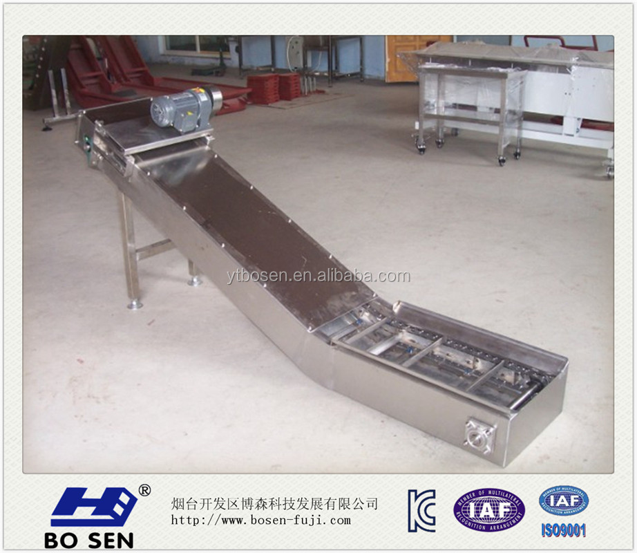 stainless steel conveyor belt scraper machine