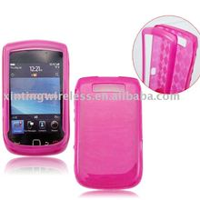 transperant TPU cell phone case for BB9800