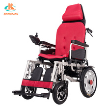 Carbon steel reclining wheelchair electric folding wheelchair