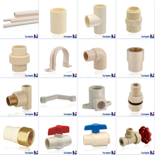 Best price HJ CPVC ASTM D2846 water supply system pipe connection plastic pipe fitting