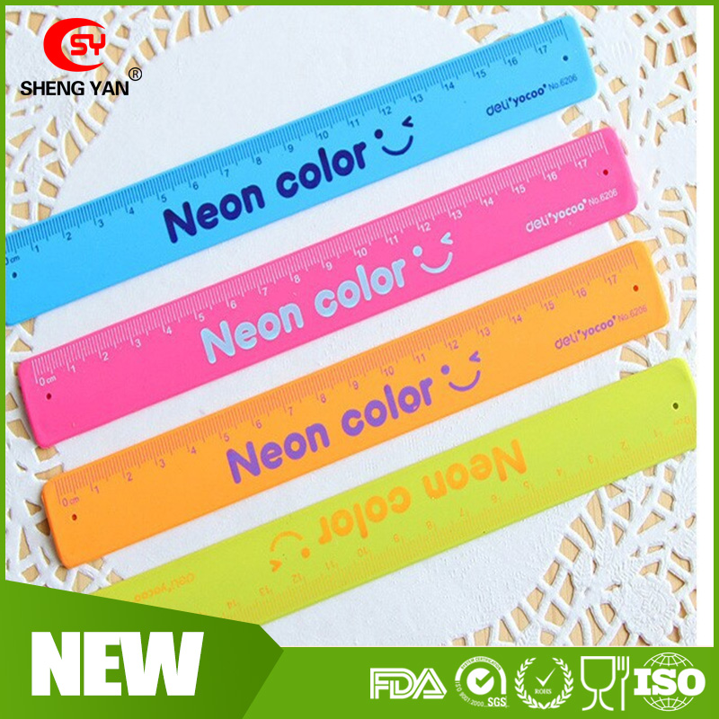 Wholesale Custom new design Silicone rolling snap bracelet ruler for children & slap band rulers