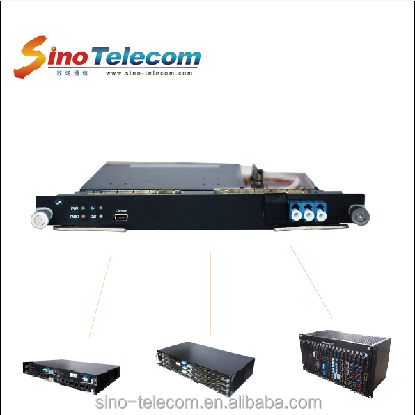 Sino-Telecom Erbium Doped Fiber Amplifier Optical Booster Amplifier /EDFA