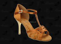 2016 New Design Satin Salsa Shoes Dance shoes Latin shoes for Women