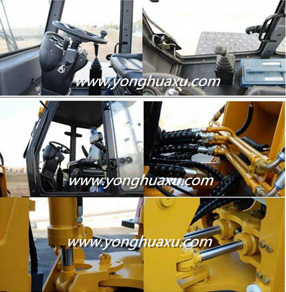 High quality front end small hub reduction telescopic wheel loader