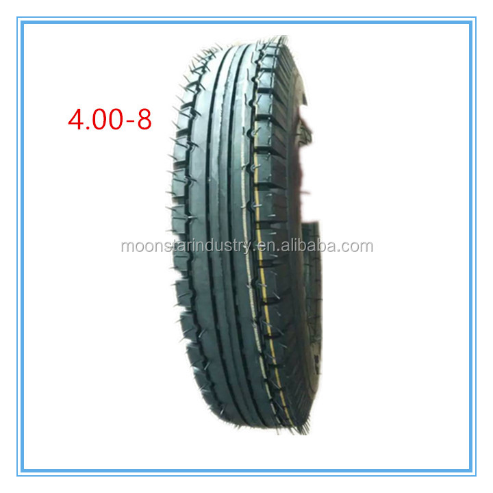 tire brands made in china 4.00-8 China manufacture Trade Assurance hot sale motorcycle tire