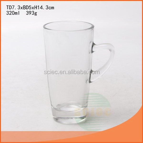 Low price hot selling naked beer glass cup
