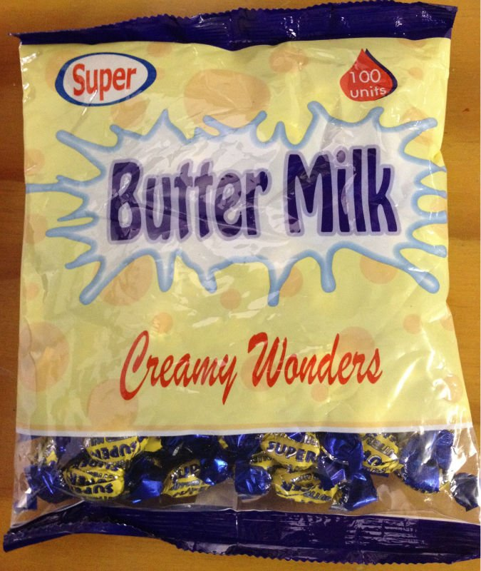 Butter Milk hard Candy