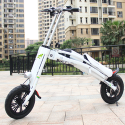 "Popular 12"" mini folding electric bike new electric dirt bike with 36v Lithium battery"