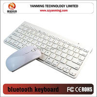 Bluetooth 3.0 Wireless Full Size Keyboard/ computer keyboard with mouse/ Universal bluetooth 3.0 keyboard for ipad