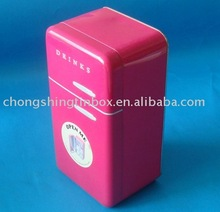 Perfume packing tin box