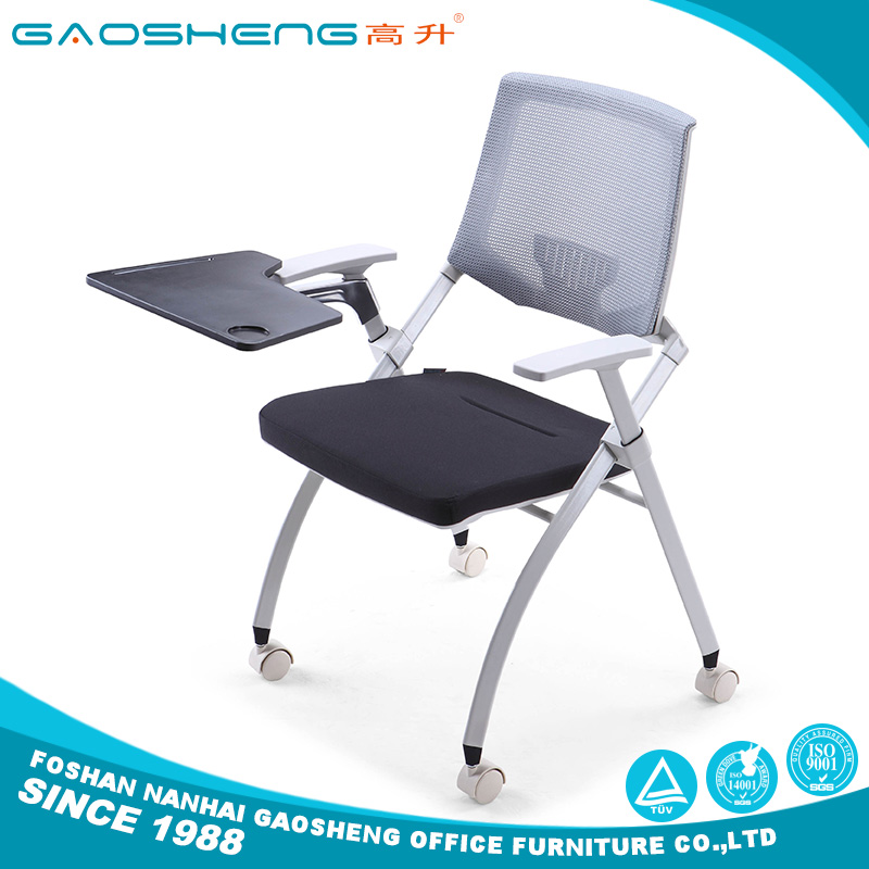 Used folding chairs wholesale with tablet GS-G1795DW