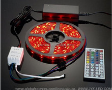 CE ROHS FCC with 24/44 Keys LED Controller and Driver led strip light 5M SMD5050 RGB IP20 Complete Set
