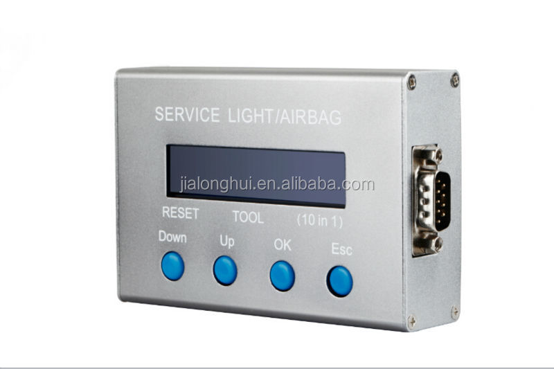 Car/vehicle diagnosis Universal 10 in 1 Service Light & airbag crash data reset tool