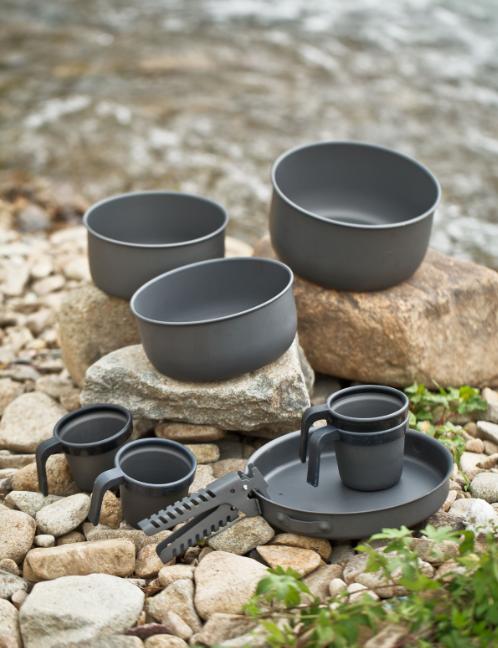 Ustensiles de cuisine européenne/Camping marmite, En Plein Air Ustensiles cook set/Pique-Nique Pan