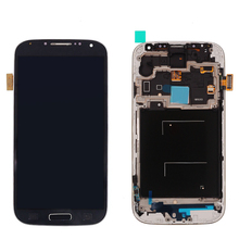 Original complete LCD touch screen display for Samsung Galaxy S4 i337 i9505 i9500 LCD with frame assembly