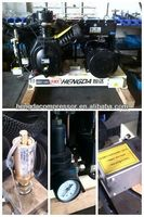 electromagnetic clutch compressors 35CFM 1160PSI 20HP