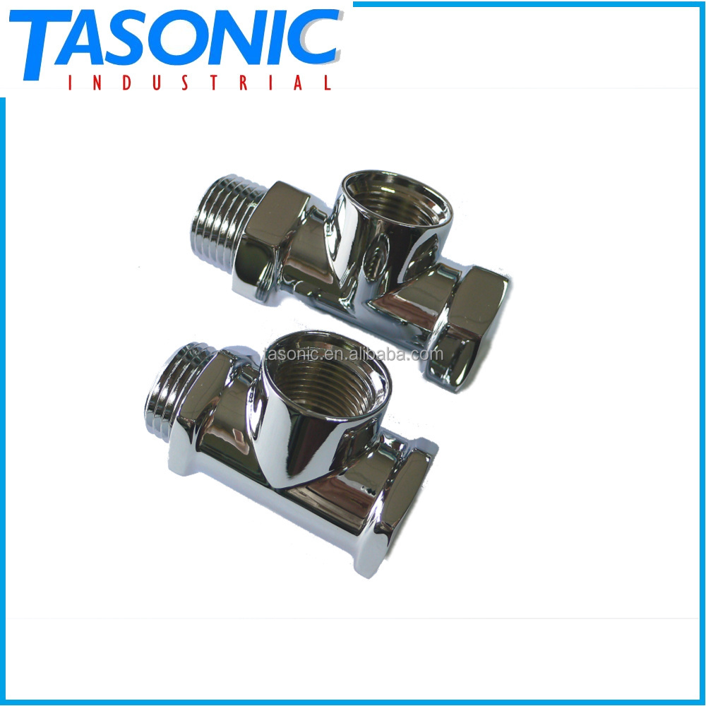 Chrome plating brass basin faucet single bathroom tap