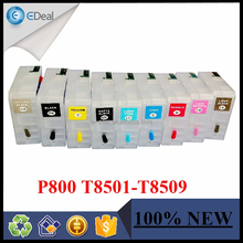 Empty cartridge for Epson P800 refillable ink cartridge