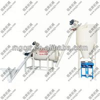 Multifunction 3-4T/H Simple dry mortar production line equip twin shaft mixer in China