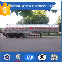 New fuel tanker prices, 50000 liters oil/gasline fuel tanker semi trailer for sale