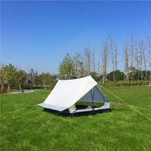 Hot Selling Super Light 1 Person Waterproof Outdoor Camping Tent, CZX-166 Ripstop Triangle tent,A Character Type Hiking Tent