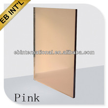 4mm 5mm 6mm hard coating reflective glass/pink reflective glass with CCC,CE,ISO Standard