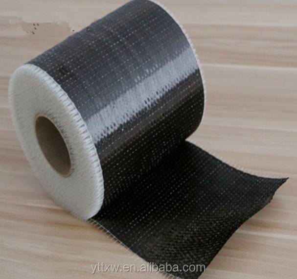 Carbon fiber 12k cloth applied in construction