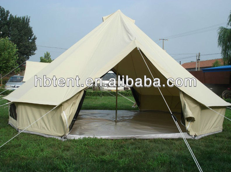 Cotton Canvas Camping Tent 6 Person - Buy Camping Tent 6 Person,Large Dome Tent,Geodesic Dome Tent