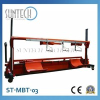 SUNTECH Electric Warp Beam and Fabric Trolley for Textile,Lift Trolley