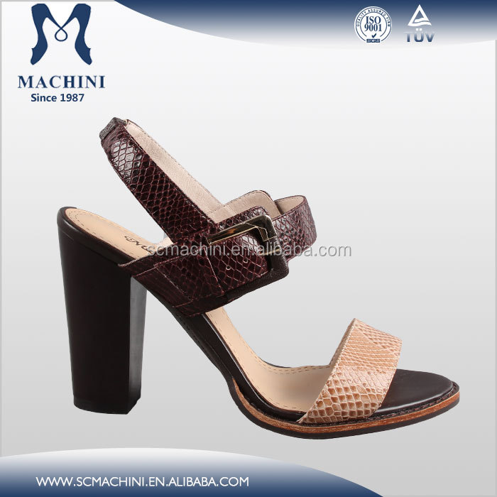 Italian brand summer model high-heeled sandals sepatu wanita ukuran 42 43