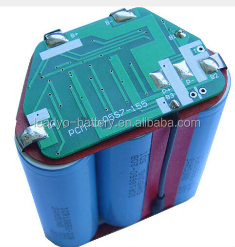 lifepo4 5S 20ah battery BMS/ PCB for power tools
