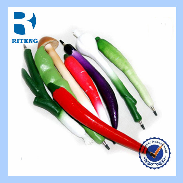 fashion promotional chili ballpoint pen vegetable ball pen