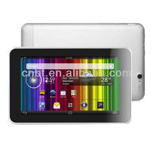 best 7mm Thickness Super Slim quad-core 7 inch tablet android 4.2 3g tablet