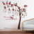 Removable creative bedroom living room sofa photo frame tree wall sticker