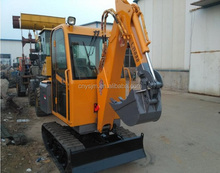 NEWLAND brand LD180-D crawler loader with backhoe attachment