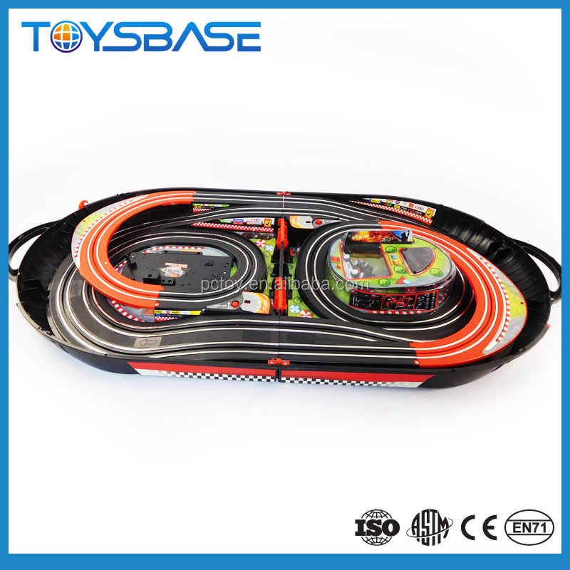 Educational 2 player rc drift car track racing games toy
