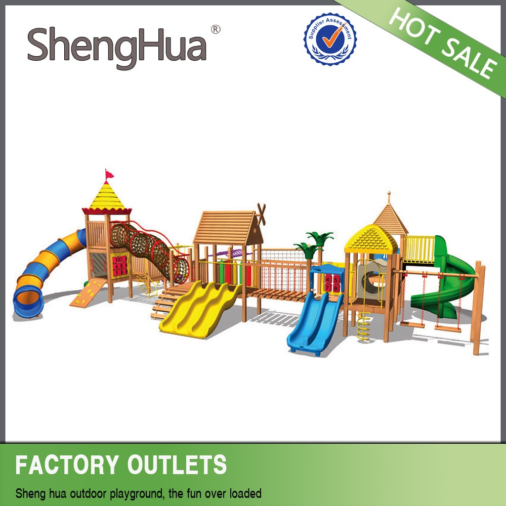 Customized Kids Playground Designs Drawing wooden playsets plans